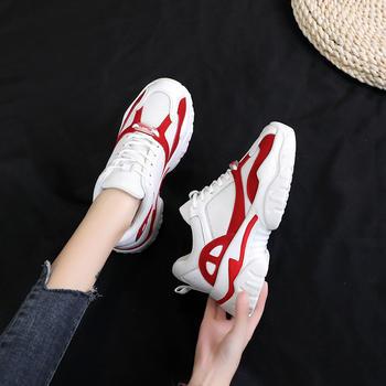 佑黛女鞋韩版新款休闲鞋ins超火老爹鞋复古厚?#23039;?#31957;鞋