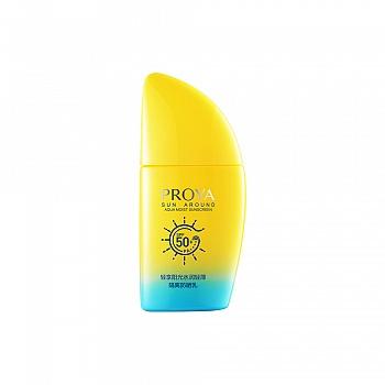 珀莱雅(PROYA)轻享阳光水润轻薄隔离防晒乳50ml SPF50+/PA++++