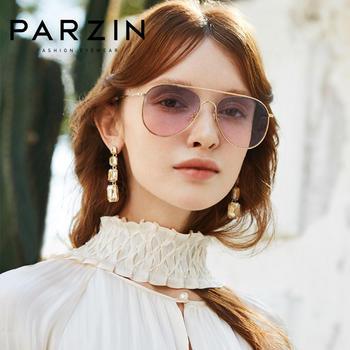 帕森太阳镜新款女士粉色墨镜女韩版潮金属蛤蟆镜大框时尚眼镜8211