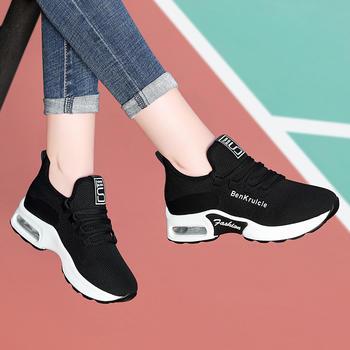 气垫运动鞋女春季韩版厚底休闲鞋
