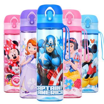 迪士尼儿童大容量直饮带锁扣便携水杯570ml
