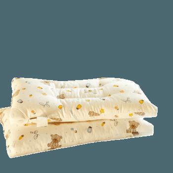 维科家纺全棉儿童枕头柔软卡通印花枕芯长绒棉