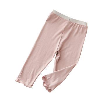 贝壳元素夏季女童纯色打底裤kzc302