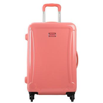 GUESS女士密码行李箱万向轮时尚马卡龙旅行拉杆箱28寸