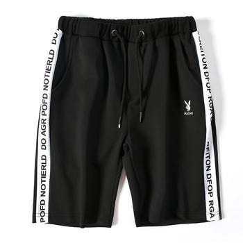花花公子短裤男士夏季透气运动裤