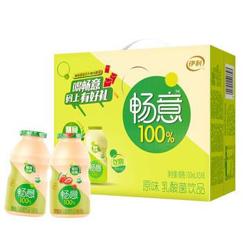 【8月新货】伊利 畅意乳酸菌饮品 100ml*30瓶/提