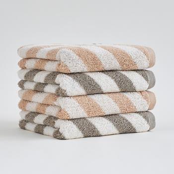 三利 有机棉毛巾纯棉成人柔软洗脸家用情侣吸水面巾