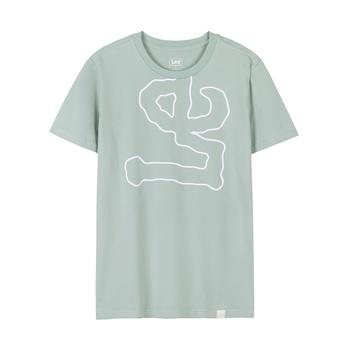 Lee 夏季新款男士圆领棉质短袖T恤L300992LQ7AD