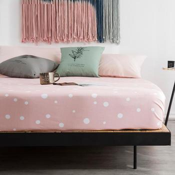 苏娜国际(SUNA)全棉床笠单件纯棉1.8米床罩套1.5m床单席