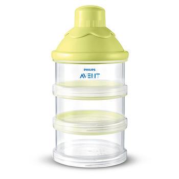 飞利浦新安怡奶粉储存盒婴儿宝宝奶粉分装三层便携式