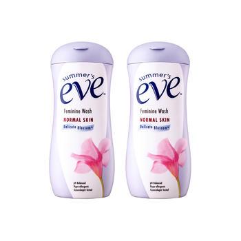 夏依Summer's Eve女性专用洗液(清新花香型)237ml*2瓶