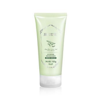 膜法世家绿豆氨基酸净颜泡沫洁面膏 150g 柔和洁净清洁