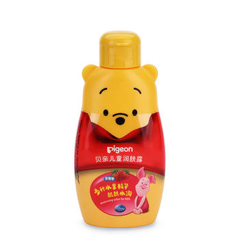 贝亲儿童润肤露120g 草莓香味 保湿水润