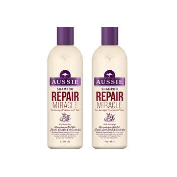 澳丝袋鼠强韧修护洗发水300ml*2瓶 细软塌救星