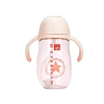 gb好孩子儿童鸭嘴训练杯吸管学饮水杯防摔防漏防胀气