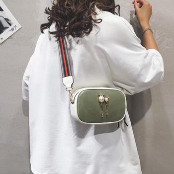 宾尼兔韩版时尚简约单肩相机包潮流斜挎女包小方包