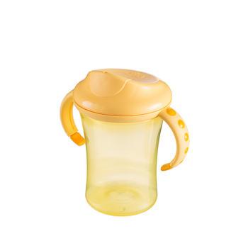 NUK 幼儿成长训练杯防滑双手柄清洗方便