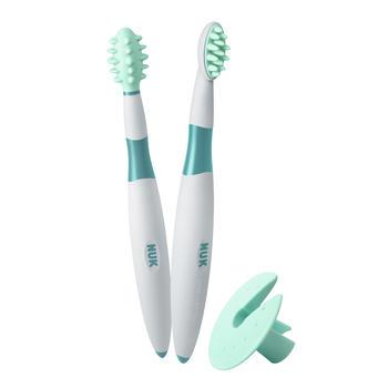 NUK 婴儿牙刷儿童宝宝训练牙刷安全分阶段软毛牙刷