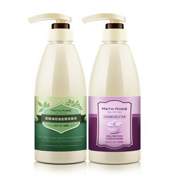Matin Rosie/玛汀露丝洗护无硅油控油去屑洗发水+护发素