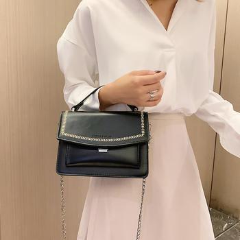雅诗罗欧美时尚简约女包手提包包百搭单肩小方包