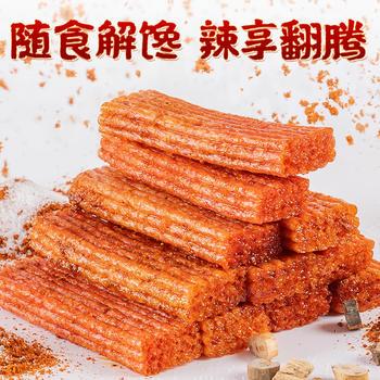 蜀道香 劲爽小辣片火锅味98g*2包   休闲食品
