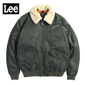 Lee男士加绒夹克当季新款防寒保暖男士休闲外套L86UMFKB