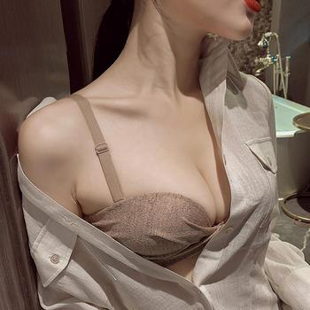 维妮芳 网红爆款小胸显大少女文胸 聚拢调整型防下垂