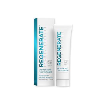 官方授权 法国进口Regenerate修护牙釉质美白牙膏 75ml