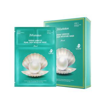 JMsolution海洋珍珠面膜三部曲(精华+眼霜+面膜)10片装