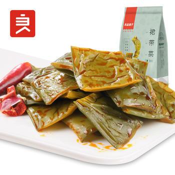 良品铺子裙带菜160g即食下饭海白菜香辣味零食小吃