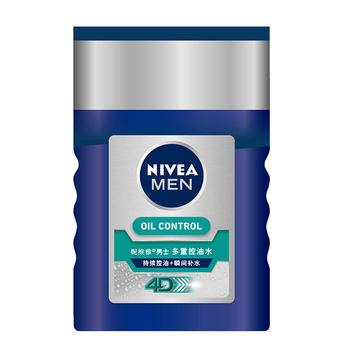 Nivea/妮维雅男士多重控油水125ml舒缓控油收毛孔爽肤水