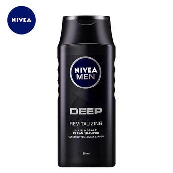 妮维雅男士洗发水深黑DEEP净透劲爽洗发露