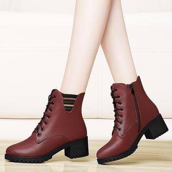 小短靴女单靴靴子短筒平底及踝靴