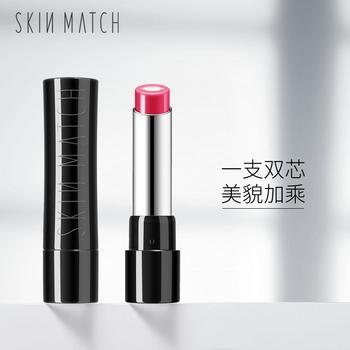 SKINMATCH极密樱润淡彩亲芯唇膏3.0g  不易脱色修护唇