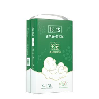 松达茁芯加量装 山茶油+纸尿裤S-XL码 柔软舒适