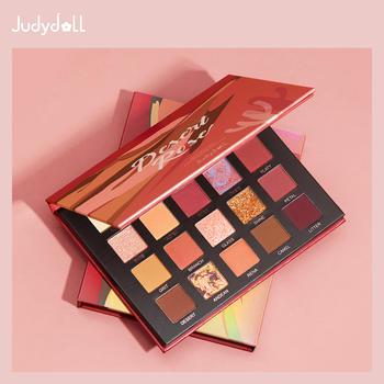 Judydoll橘朵新品东京银杏20色眼影盘沙漠玫瑰盘