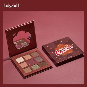 Judydoll橘朵红酒巧克力9色眼影盘哑光珠光秋冬眼妆