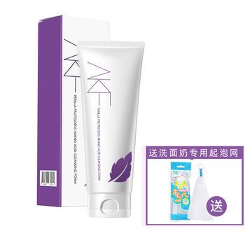 【赠送起泡网】韩国AKF 紫苏氨基酸洁面乳 洗面奶 200g