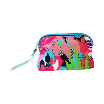 雅诗兰黛化妆包-棕榈滩限定款 简约便携大容量手拿包女包