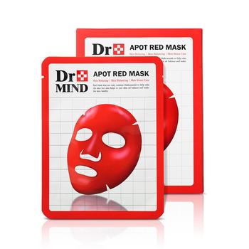 韩国dr.mind达克蔓进口净肤红面膜补水保湿舒缓修复镇静缓解肌肤