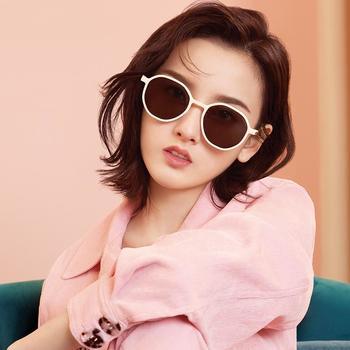 帕森太阳镜女 宋祖儿明星同款复古尼龙镜片韩版潮墨镜 新款92024