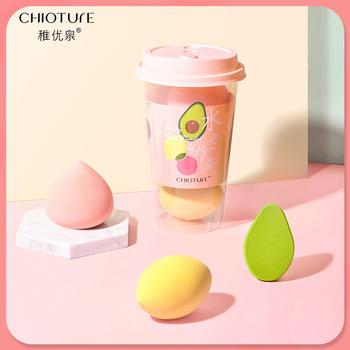 稚优泉水果炸蛋美妆蛋不吃粉海绵蛋化妆工具
