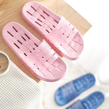 浴室漏水速干防滑拖鞋 女居家室内洗澡男家用卫生间凉拖鞋四季