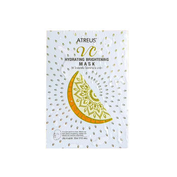 泰国ATREUS VC水润亮肤面膜补水保湿提亮肤色