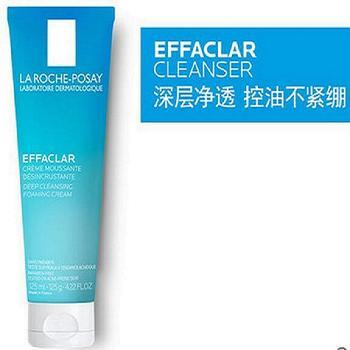理肤泉净肤控油洁面泡沫 深层清洁 温和收缩毛孔 细腻丰富泡泡