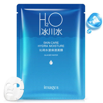 形象美冰川沁润水漾保湿面膜补水润泽保湿滋养温和滋润面膜片装