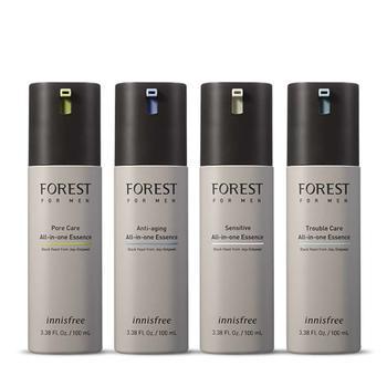 森林男士多效精华露 4款可选 蕴含来自圣林的黑酵母发酵产物