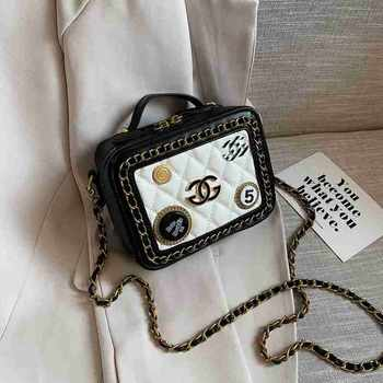 INME洋气包包女2020新款潮韩版ins时尚百搭小ck星空链条手机提斜挎包