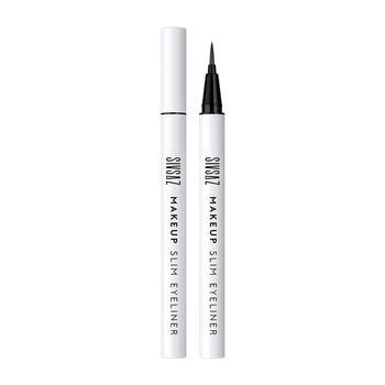 思尚持妆纤细眼线笔持久防水不易晕染新手初学者白色棕色极细