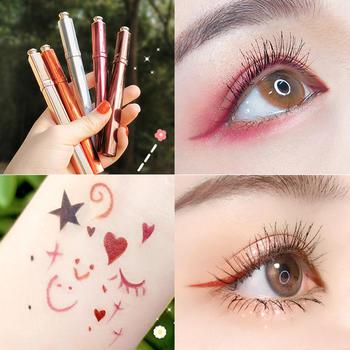 格蒙炫皇冠彩色眼线笔防水不晕染毛刷细头学生款眼线液笔网红爆款